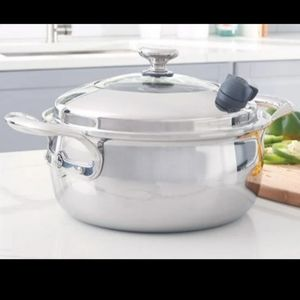 Princess House Stainless Steel Casserole